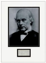 Joseph Lister Autograph Signed Display